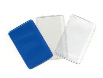 Creditcard etuis, gekleurde achterkant