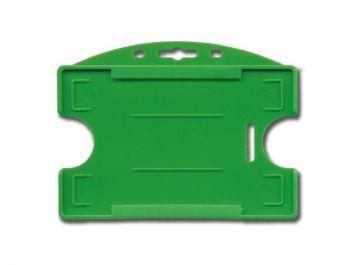 Badges gekleurd met 2 duimgaten, open model