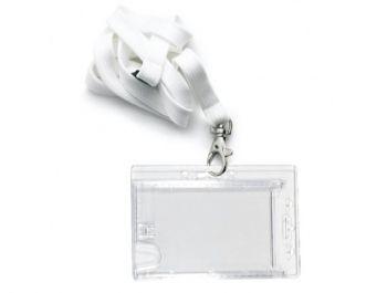 Koordbadge creditcard formaat voor 2 pasjes